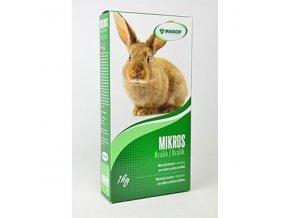 Mikros K pre králiky plv 1kg