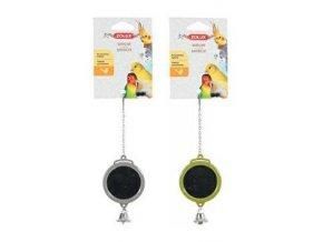 Hračka pre vtáky zrkadlo okrúhle plast Zolux