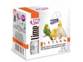 Lolopets LIME prírodný minerálny kameň pre vtákov 40 g
