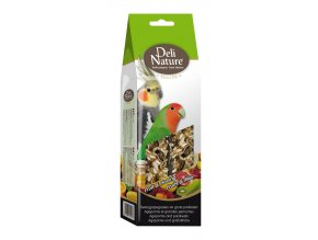 Deli Nature SNACK Agapornis and parakeets-FRUIT & HONEY 130g