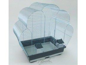 Klietka pre vtáky K10 chrom 595x335x585mm