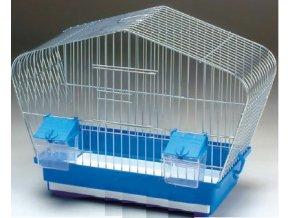 Klietka pre vtáky 001 chróm 410x200x320mm