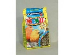 vitakraft bird krm menu vital honey canary 500g