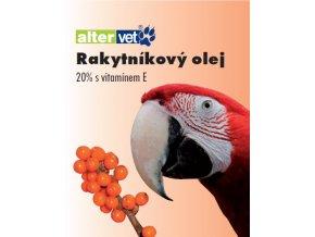 Rakytníkový olej 20% s vitamínom E 100 ml