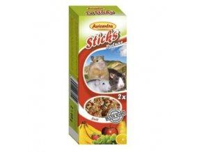 Avicentra tyčinky malý hlodavec - ovocie+med 2ks