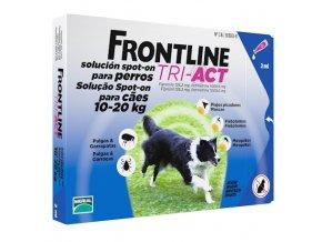 frontline tri act pre psov spot on m 10 20 kg 1 pip