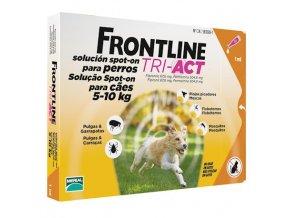 frontline tri act pre psov spot on s 5 10 kg 1 pip