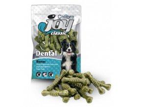 calibra joy dog classic dental bones 90g new