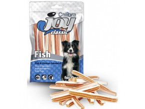 calibra joy dog classic fishchicken sandwich 80g new
