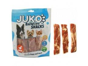 juko excl smarty snack duck codfish jerky 250g