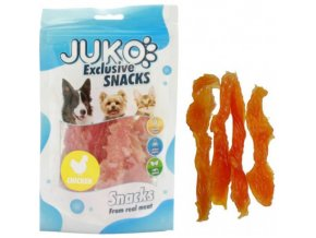 juko excl smarty snack soft chicken jerky 250g