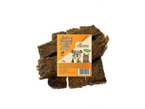 NATURECA mäsové pláty - jeleň, 100% mäso 100g