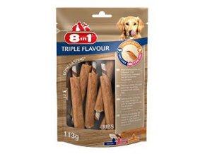 Pochúťka 8in1 Triple Flavour ribs (6ks)