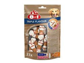 Pochúťka 8in1 Triple Flavour XS (21ks)