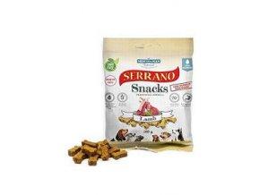Serrano Snack for Dog-Lamb 100g