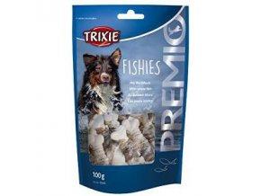 Trixie Premio FISHIES kalciová kosť s rybou 100g