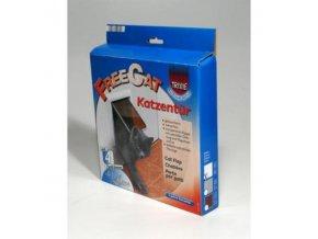 Dvierka mačka plast Biela 4P Freecat DeLuxe TR1ks