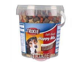 Trixie Soft Snack Happy MIX kura, jahňacie, losos 500g