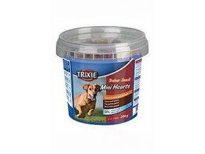 Trixie Trainer snack Mini Hearts kura / jahňa / losos 200g
