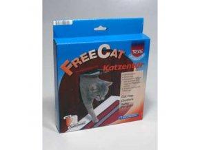 Dvierka mačka plast Hnedé 2P Freecat Classic TR 1ks