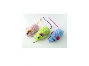 Hračka Chlpatá myška Mouse, 6,5cm 1ks Lill