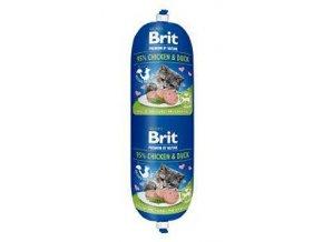 Brit Premium Cat by Nature Sausage Chicken & Duck 180g
