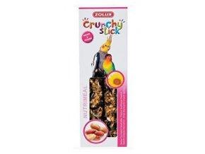 Crunchy Stick Large parakeet Slnečnica / Arašidy 2ks