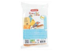Sušienky pre vtáky Crunchy CAKE APPLE BANANA 6ks 75g
