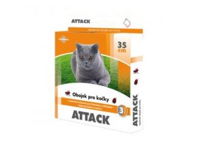 Attack obojok antiparazitárny 35cm