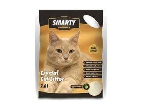 Podstielka Smarty Exclusive silikát zel. jablko 7,6l