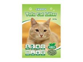 Podstielka Smarty Tofu Cat Litter-Green Tea 6l