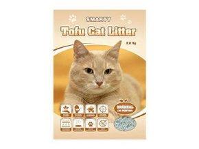 Podstielka Smarty Tofu Cat Litter-Original bez vône 6l