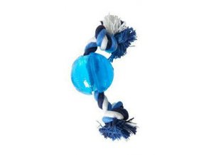 Hračka pes BUSTER Strong Ball 6 cm s povrazom