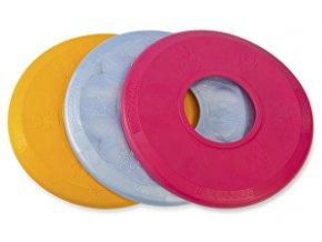 Hračka pes Disk MAX aport plávací vanilkový 25 cm