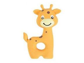Hračka pes šteňa Žirafa latex