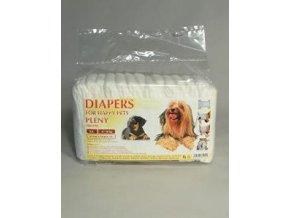 Plienky pre psov veľ. 3A 6-10 kg 15ks