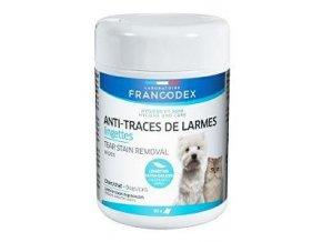 Francodex obrúsky na stopy sĺz pes, mačka 50ks