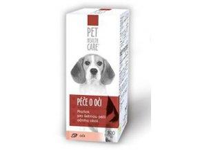 Starostlivosť o oči pre psov a mačky 100ml PHC