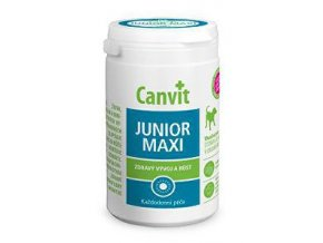 Canvit Junior MAXI ochutené pre psov 230g