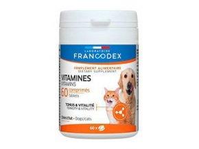 Francodex Vitamíny pes, mačka 60tab