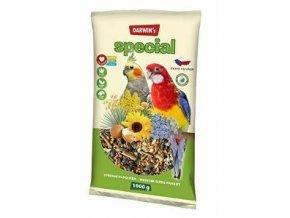Darwin 's stredný papagáj special 1kg