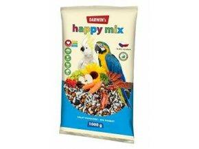 Darwin 's veľký papagáj Happy mix 1kg