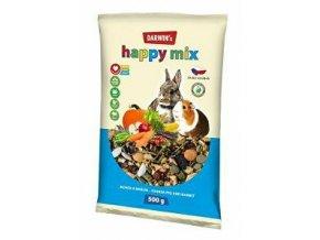 Darwin 's morča, králik happy mix 500g