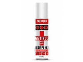 PREDATOR dezinfekcia WHO Antiflu spray 90ml