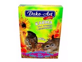 Dako Krmivo myš, potkan 500g
