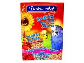 Krmivo andulka Dako ovocie 500 g