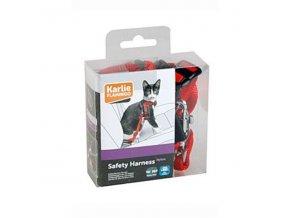 Postroj mačka bezpečnostný do auta 25mm