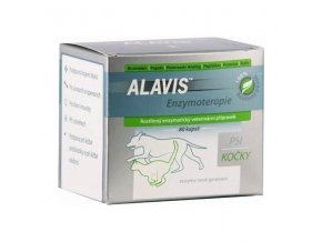 Alavis Enzymoterapia-Curenzym pre psy a mačky 80cps