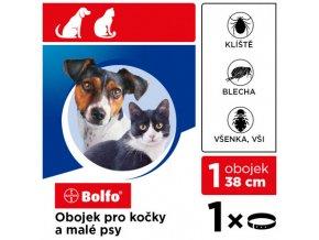 Bolfo 38 obojok pre mačky a malých psov