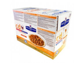 Hill's Fel. C/D kapsa Urinary Stress RC Chicken 12x85g